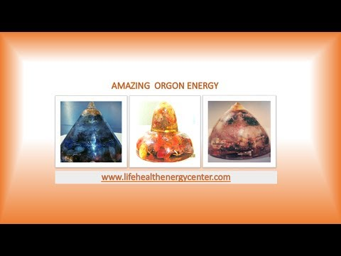 7 Chakra Healing Orgone Discs
