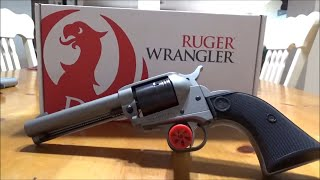 ruger wrangler unboxing - TH-Clip
