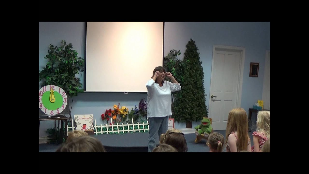 Puppet Show for kids - If you are happy