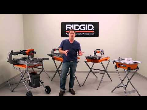 RIDGID Tile Saw Tips & Tricks with David Sheinkopf