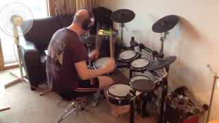 Red House Painters - I Am A Rock (Roland TD-12 Drum Cover)
