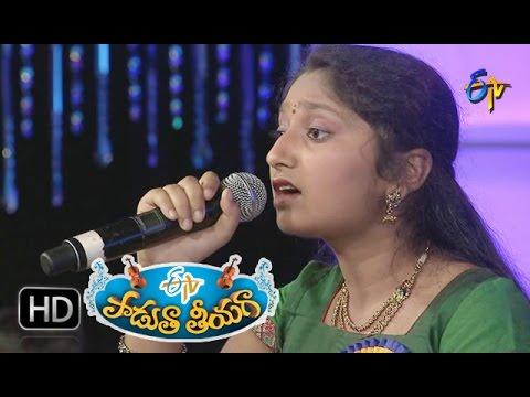 Vallanki-Pitta-Song--Supraja-Performance-in-ETV-Padutha-Theeyaga--23rd-May-2016