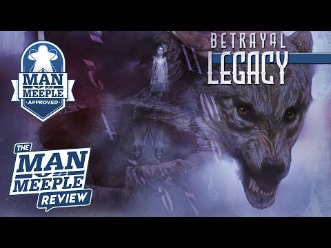Betrayal Legacy Review by Man vs Meeple