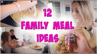 Easy family meal ideas | week night dinners