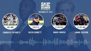 Cowboys/Patriots, Jason Garrett, Amari Cooper, Lamar Jackson | UNDISPUTED Audio Podcast
