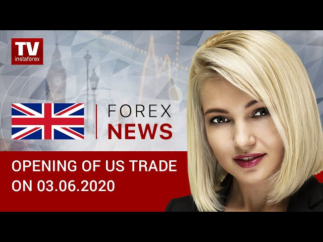 03.06.2020: USD downtrend could mean recovery in US economy (USDХ, DJIA, WTI, Brent, USD/CAD)