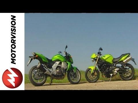 Triumph Street Triple vs Kawasaki Z750