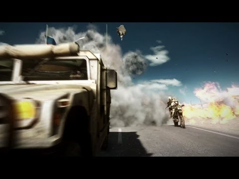 Capture The Flag While Riding Dirt Bikes In Battlefield 3's End Game