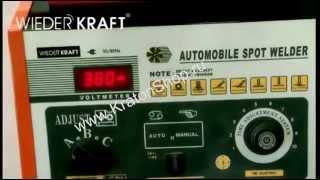 Аппарат для точечной рихтовки Kraft GI12115 от компании Karcher и Nilfisk Alto - видео