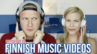 REACTING TO FINNISH MUSIC VIDEOS | Part 2 (feat. Cat Peterson)