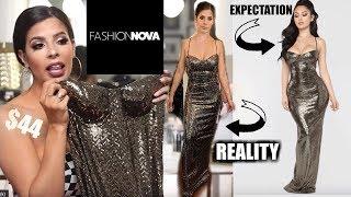 I TRIED ON 18 FASHION NOVA PROM DRESSES $2000 Worth