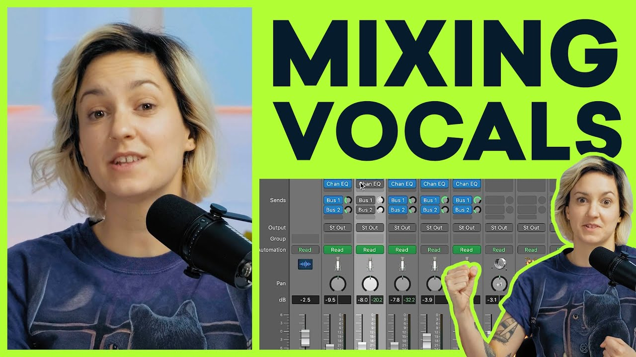 How To Easily Mix Vocals Like A PRO (Start To Finish)