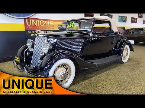 Video of '34 Cabriolet - Q33A