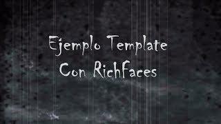 Part 5. Ejemplo Template Con RichFaces - Tutorial J2EE