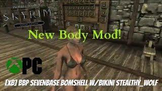Skyrim SE Xbox One/PC Mods|BBP SeveNBase Bomshell W/Bikini Stealthy_Wolf