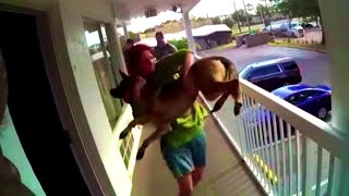Woman Throws Dog Off Motel Balcony And Is Immediately Arrested For Animal Cruelty