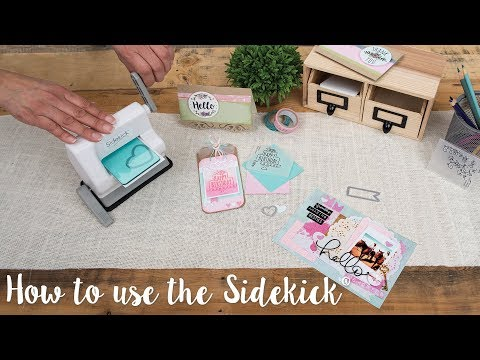 How to Use the Sidekick Machine - Sizzix
