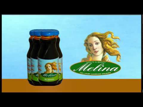 Διαφήμιση πριόντος μελάσας που κυκλοφορεί στην ελληνική αγορά