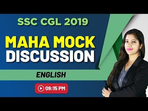 SSC CGL 2019 | English | Maha Mock SSC CGL