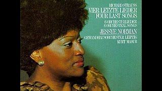 Richard Strauss, Vier letzte Lieder, Jessye Norman, Kurt Masur