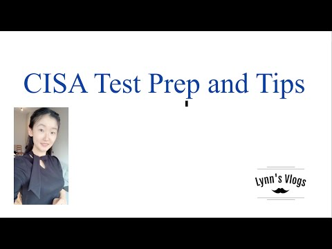 Some CISA prep tips for you!