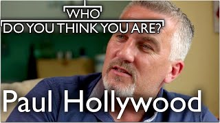 Great British Bake Off Paul Hollywood Starts His Search |  Who Do You Think You Are