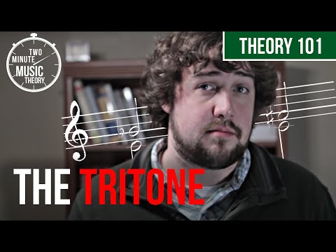 The Tritone: The Devil's Interval? - TWO MINUTE MUSIC THEORY #16