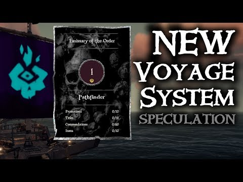 NEW VOYAGE UPDATE // SEA OF THIEVES - Speculation on what's to change.