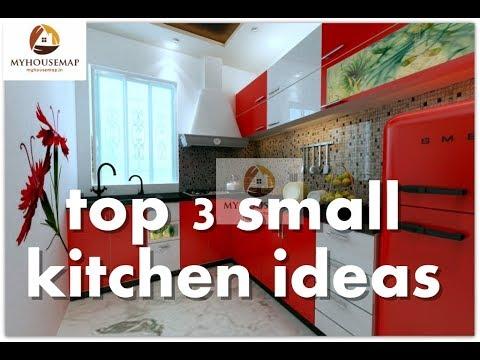 top 3 small indian kitchen interior design ideas | best interior Indian style