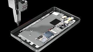 スマートフォン生産のさまざまな工程に/Inmanufacturingprocessofsmartphone.