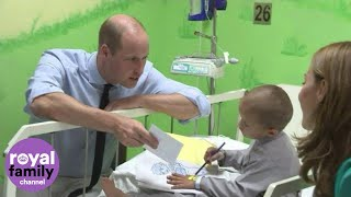 Duke And Duchess Of Cambridge Visit Childrens Cancer Hospital In Lahore