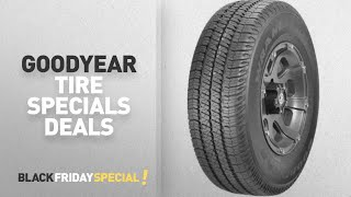 Walmart Top Black Friday Goodyear Tire Specials Deals: Goodyear Wrangler SR-A P275/60R20 114S BSW