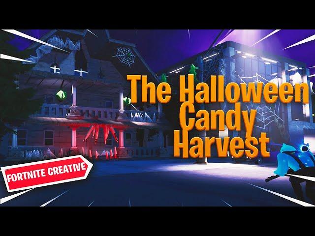 La chasse aux bonbons d'Halloween