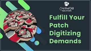 Get Embroidered Patch Digitizing Service On Demand