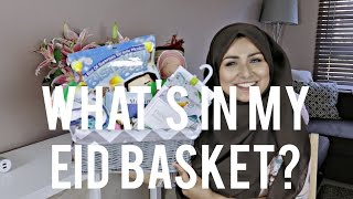 Ramadan Series: What's in my Eid Basket? [VIDEO]
