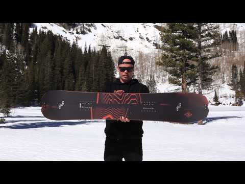 2016 Nitro Doppleganger Splitboard Snowboard Review