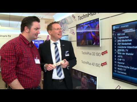 Vorstellung der neuen TECHNISAT TechniPlus ISIO TV Geräte - jetzt auch mit 55 Zoll Bildschirm