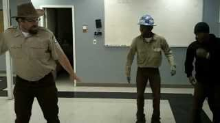 "The Boss Dances Like a BOSS! Griff Host of Animal Planet's show ""Wild Jobs."""