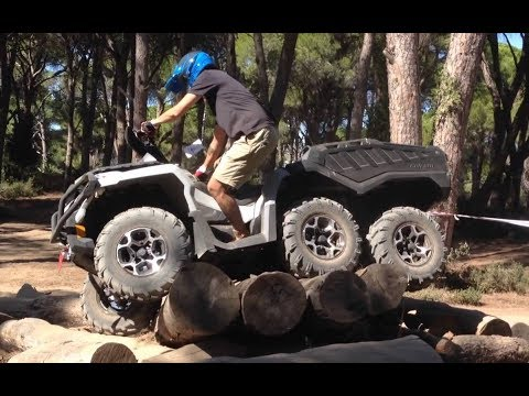 6x6  Can-Am  And   POLARIS  Extreme Ride !