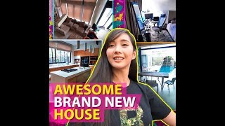 Awesome brand new house | KAMI | Alodia Gosiengfiao showed her almost done and very modern house