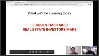 3 Biggest Mistakes Real Estate Investors Make