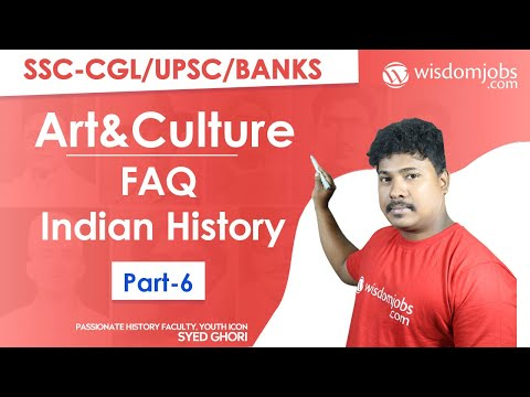 Art & Culture Frequently Asked Indian History Questions ...