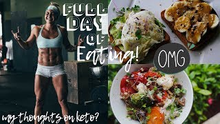 FULL DAY OF EATING + What I Really Think Of The KETO DIET.