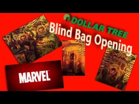 Dollar Tree | Marvel |  Blind Bags Opening