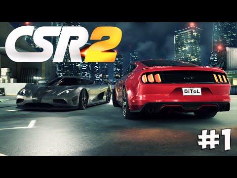 CSR Racing 2. Прохождение №1 (Gameplay iOS/Android)