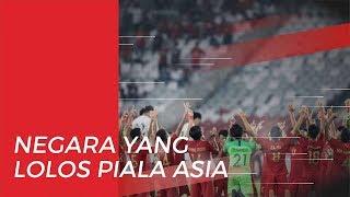 Tim Asia Tenggara yang Lolos Putaran Final Piala Asia U-19 2020