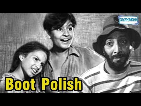 Boot Polish(1954) - Hindi Full Movie - Kumari Naaz - David Abraham