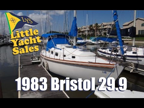 1983 Bristol 29-9 Sailboat for sale at Little Yacht Sales, Kemah Texas
