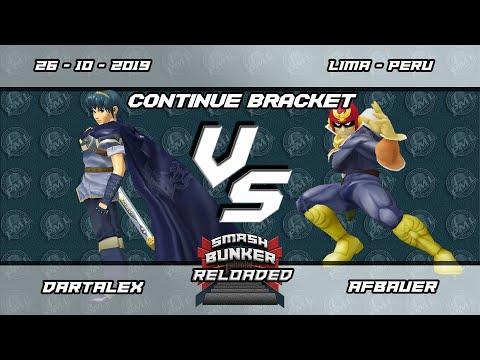 Smash Bunker Reloaded - DartAlex (Marth) vs Afbauer (Captain Falcon) - Continue Bracket