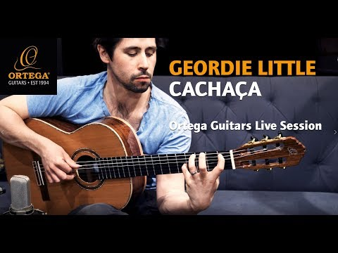 ORTEGA GUITARS | Geordie Little - Cachaça played on M-25TH nylon string guitar